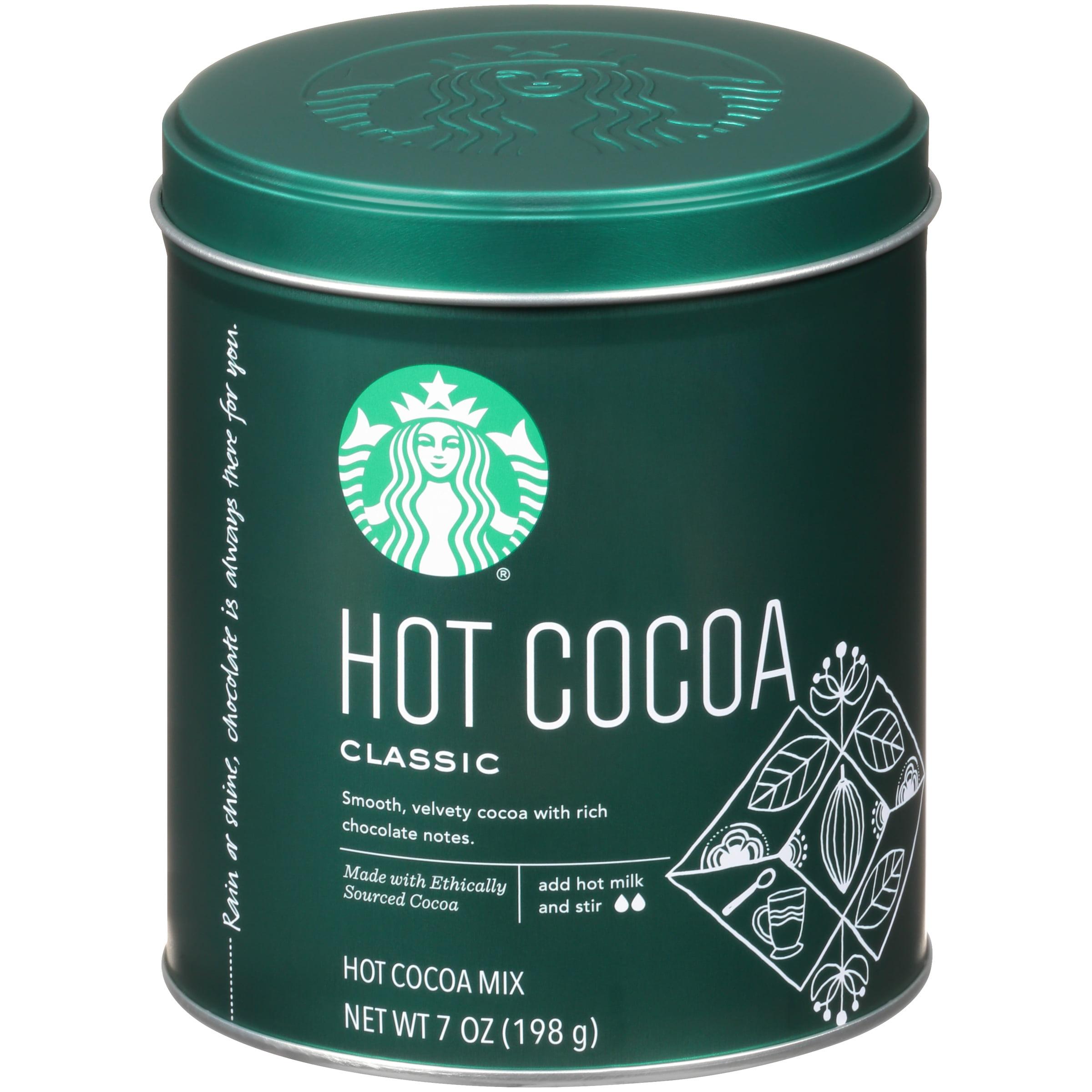 Starbucks® Classic Hot Cocoa 7 oz. Tin