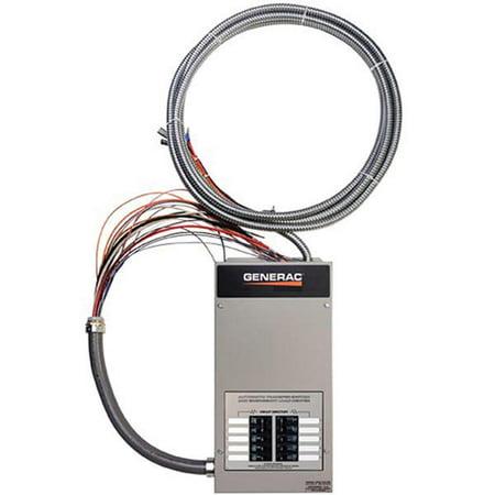 (Automatic Transfer Switch,50A,Gray GENERAC RTG10EZA1)