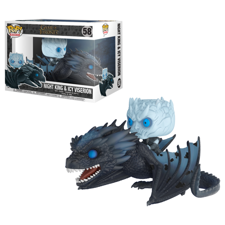 Funko POP Rides: GOT - Night King & Icy Viserion (Night's King)