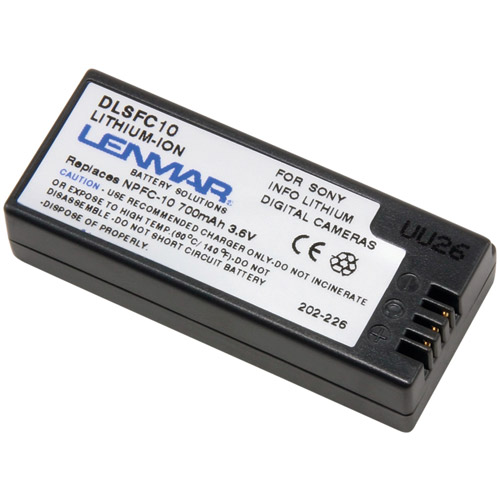 Lenmar Replacement Battery for Sony NP-FC10
