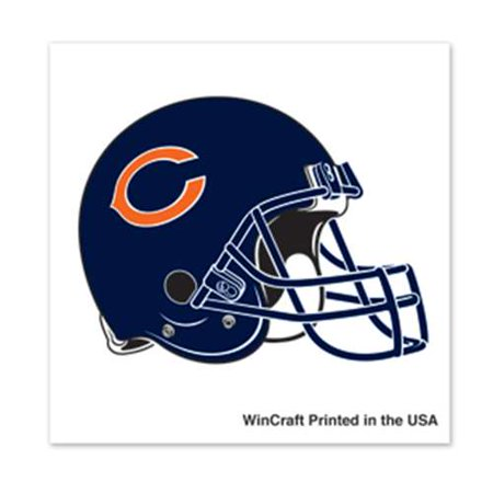 Chicago Bears Temporary Tattoo - 4 Pack - Bear Paw Print Tattoo