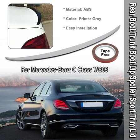 Mercedes-Benz C Class W205 Rear Boot Trunk Boot Lip Spoiler Sport Trim Lid Lid Rear Spoiler