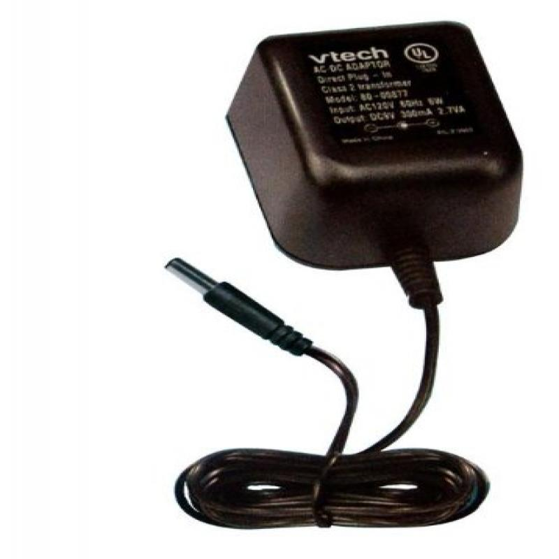 Vtech 80-000878 V.Smile AC Adapter; Converts 120V AC To 9...