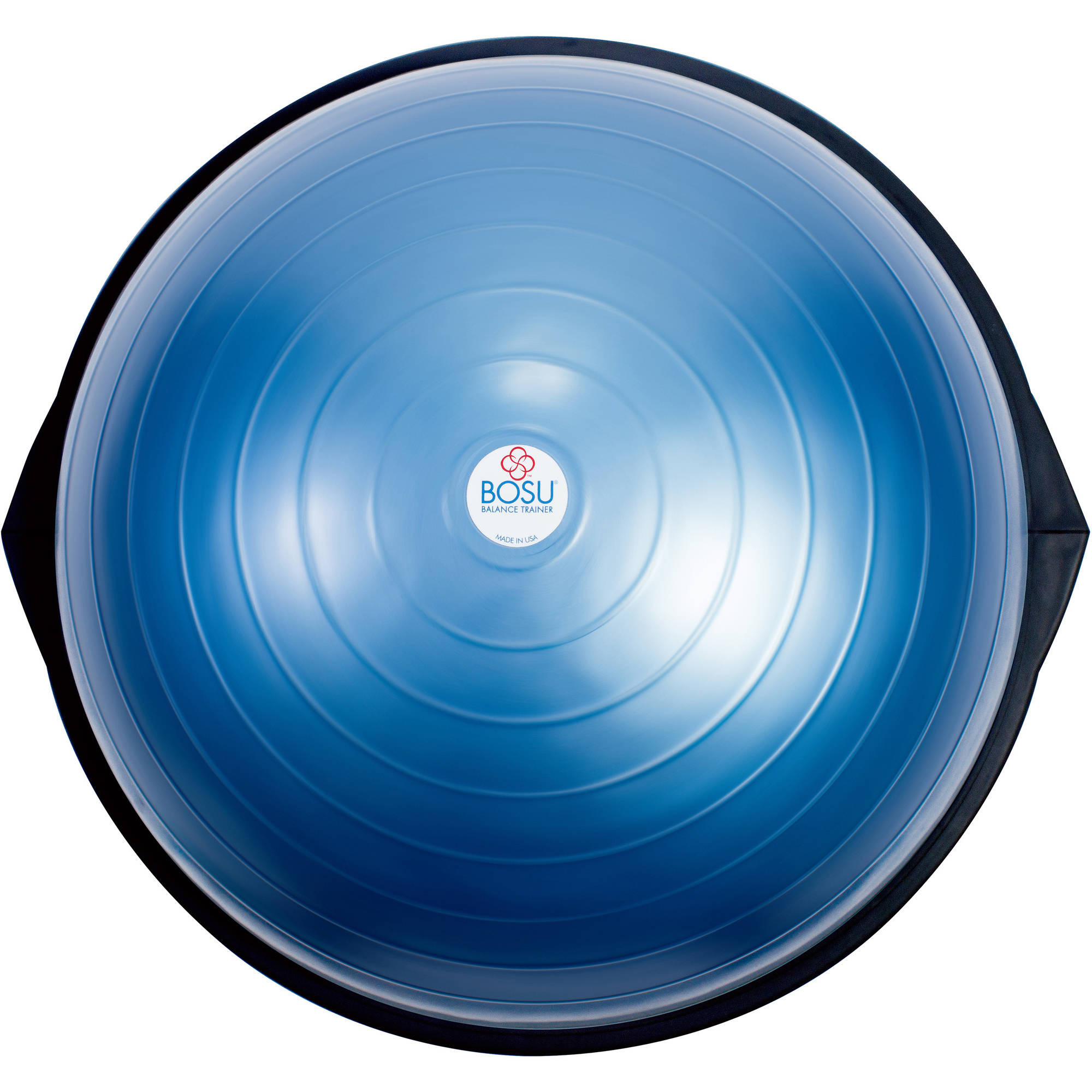 Blue BOSU Home Balance Trainer by Hedstrom Fitness
