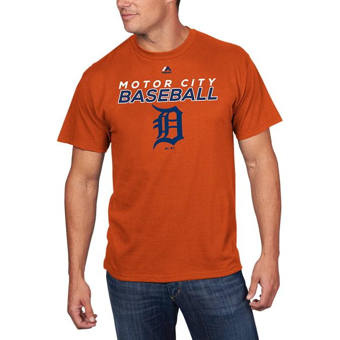 Detroit Tigers Majestic Bring the Battle T-Shirt - Orange