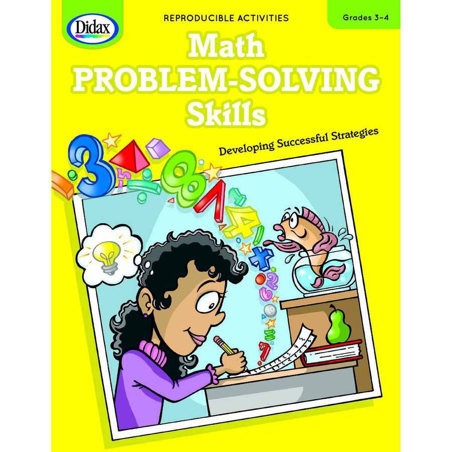 Didax Math Problem-Solving Skills, Multiple Grades