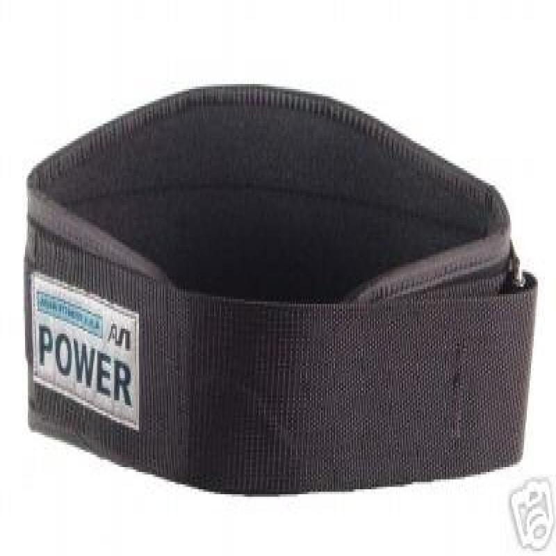 "Ader Nylon Power Weight Lifting Belt- 6"" (Large)"
