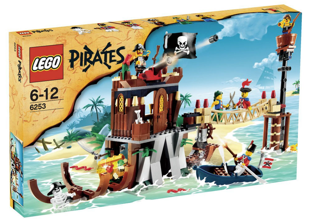 Pirates Shipwreck Hideout Set Lego 6253 by