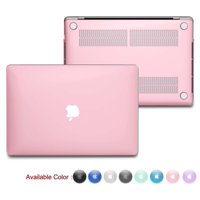 Njjex Macbook Pro 15-Inch Case A1398 with Retina Display, Njjex Protective Snap On Hard Case Shell Cover for Apple MacBook Pro (No USB-C) Retina 15 Inch (Model: A1398) (No CD-ROM),Crystal Pink