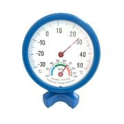 Excellent Round Indoor Outdoor Hygrometer Humidity Thermometer Temperature Meter Gauge