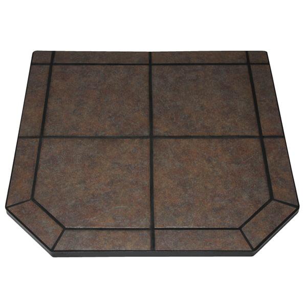 """Tartara Single Cut Corner Stove Board, 40"""" x 40"""""""