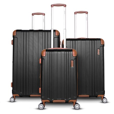 - Gabbiano Bravo Collection Two-Tone Hardside Spinner Luggage