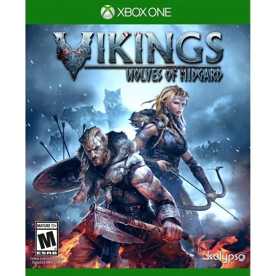 Vikings Wolves of Midgard (Xbox One) Kalypso, 848466000680