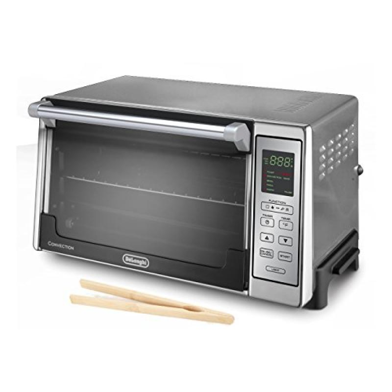 Delonghi Brushed Stainless Steel Digital Convection Oven ...