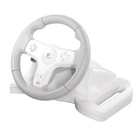 Wireless Racing Wheel - Logitech Wii Speed Force Wireless Wheel