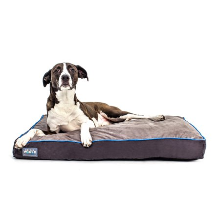 Bed 180 Breed.First Quality Orthopedic Dog Bed Pure Premium Shredded