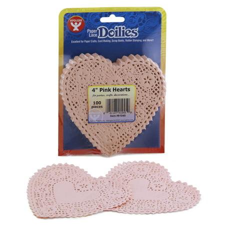 Paper Heart Doilies, 4