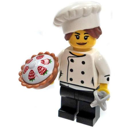 LEGO Series 17 Baker Minifigure - Lego Halloween 2017 Minifigures