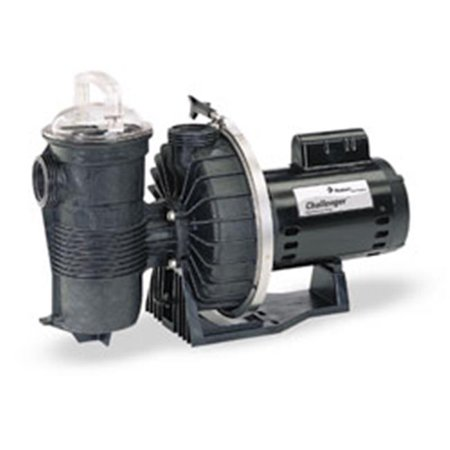 Challenger Standard Efficiency Single Speed Up Rated Pump - 1 1/2 HP ()