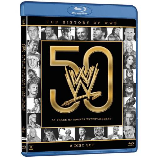 WWE: History Of The WWE (Blu-ray)