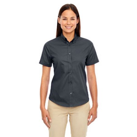 Ash City - Core 365 Ladies' Optimum Short-Sleeve Twill Shirt