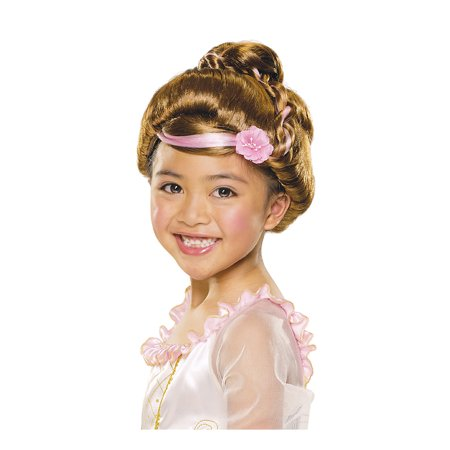 Child Brown Sophisticated Princess Wig Rubies 51425](Sophisticated Halloween)