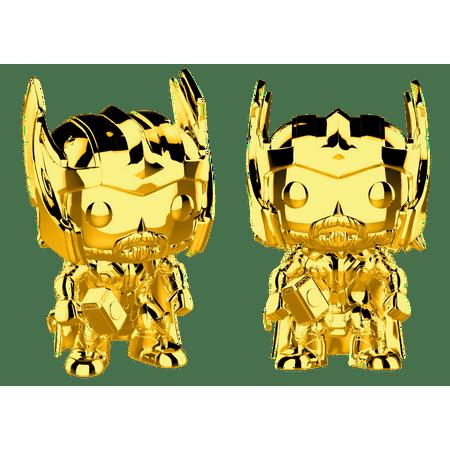 Funko Pop! Marvel: Marvel Studios 10 - Thor (Chrome Gold)
