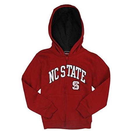 - Genuine Stuff NCAA Youth Boys North Carolina State Wolfpack Full Zip Hoodie