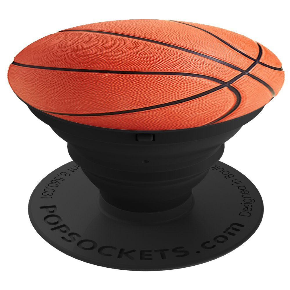 Cp Popsocket Phone Grip & Stand For Cell Phones -  Basketball- Accessory by PopSockets (cp101181)