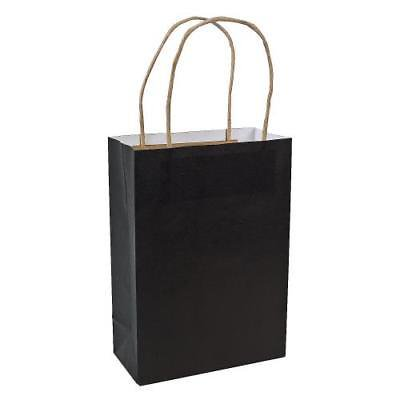 In 3 5964 Black Medium Craft Bags Per Dozen