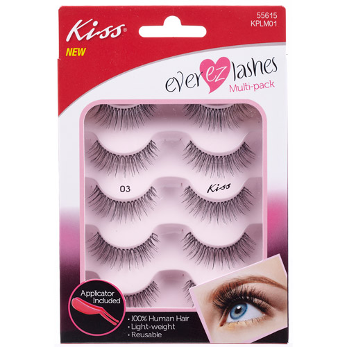 Kiss 05 Premium Eyelashes With Applicator Strings 5 pair