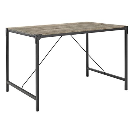 Upc 842158104045 Angle Iron Driftwood Brown Wood Dining