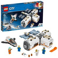 Deals on LEGO City Space Lunar Space Station Building Set w/Toy Shuttle