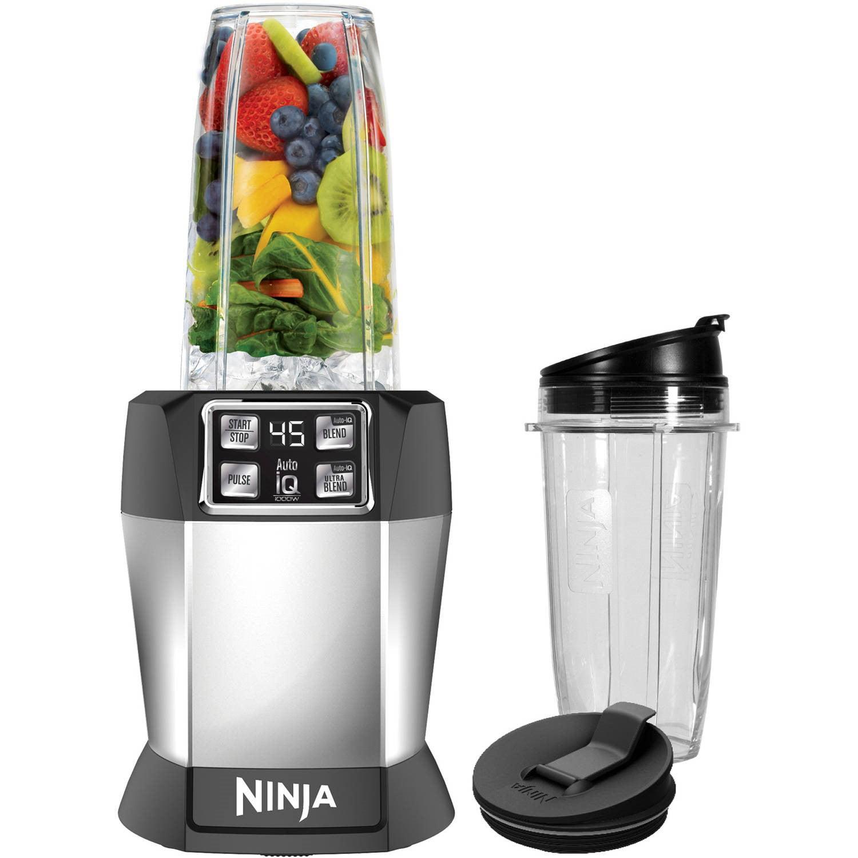 Ninja Nutrient Extraction Single Serve Blender With Auto Iq Technology Walmart Com Walmart Com