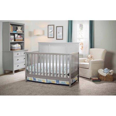 Delta Children Epic 4-in-1 Convertible Crib Gray