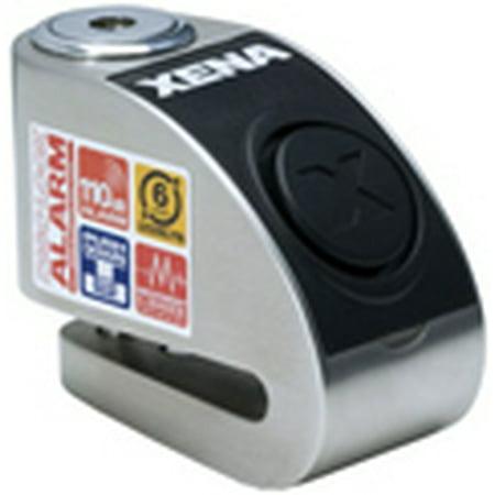 Xena XZZ6L Disc Lock Alarm, Stainless - Xena Alarm Disc Locks