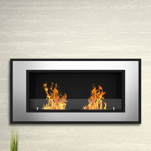 Elite Flame Tulsa Ventless Wall Mount Bio Ethanol