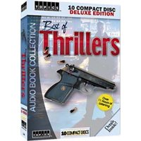 Best of Thrillers 10 CDs Audio Book Collection (Tom Clancy Hunt for Red October, Steve Thayer The Weatherman) plus more