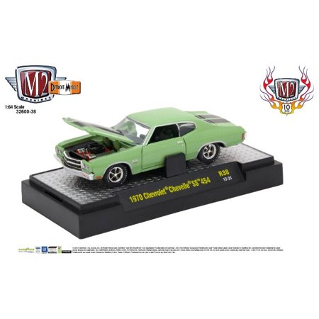M2 Machines 1 64 Detroit Muscle Release 38 1970 Chevrolet Chevell Ss 454
