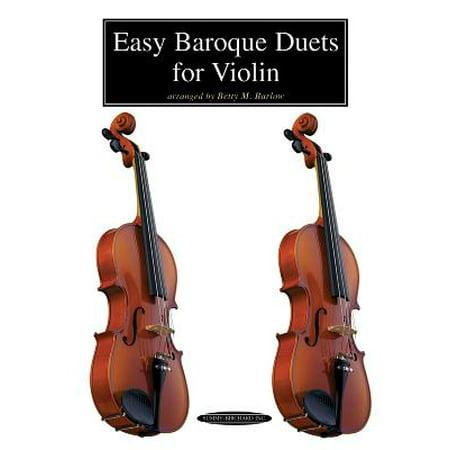 Easy Baroque Duets for Violin ()