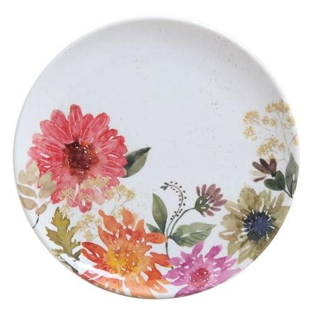 Better Homes & Gardens Outdoor Melamine Flower Pattern Dinner