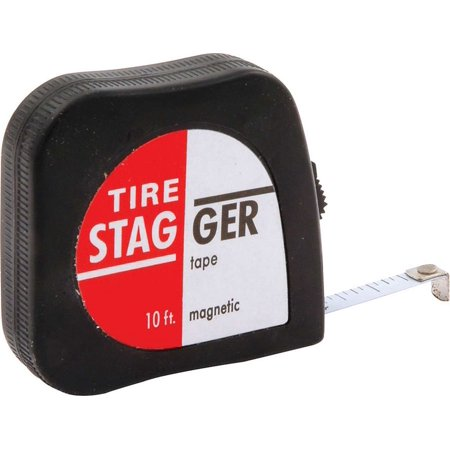 Image of Allstar Performance 10 ft 1/4 in Wide Economy Tape Measure P/N 10111