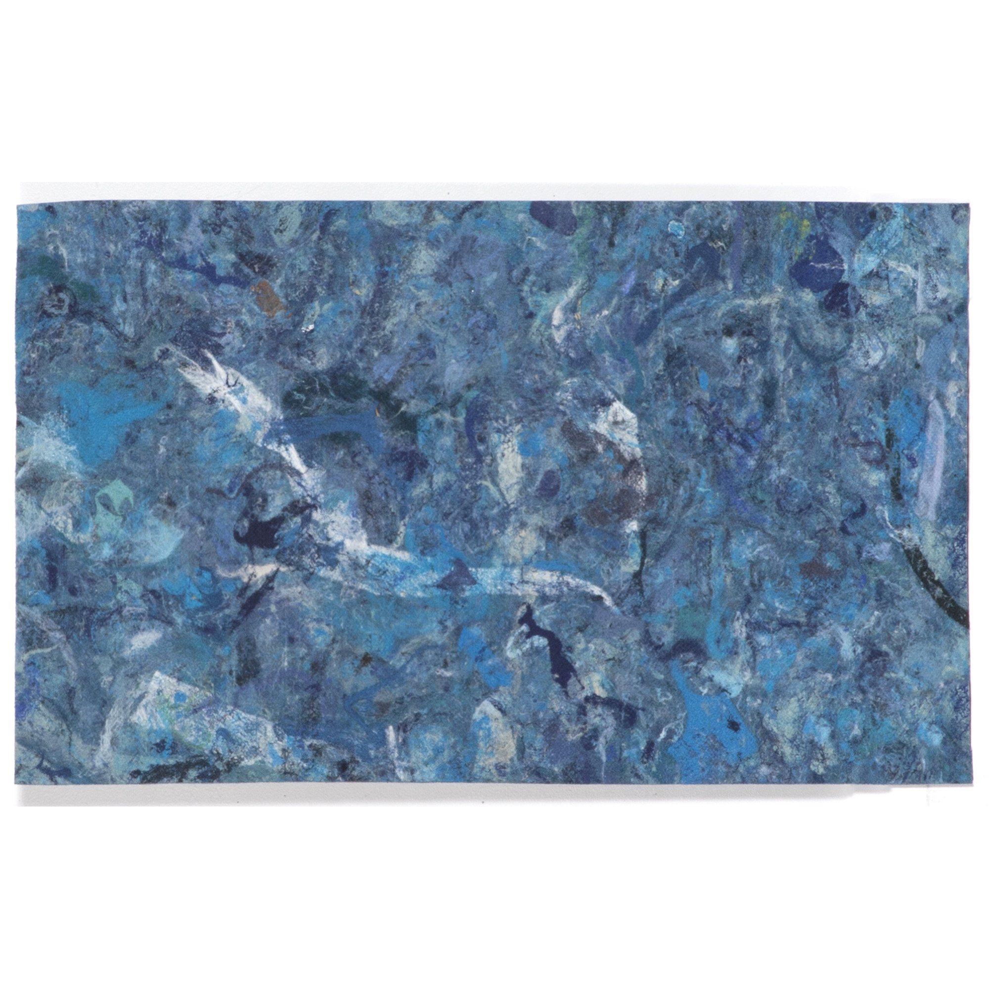 """Liora Manne Visions I Quarry Indoor OutDoormat Blue 4'10""""X7'6"""" by Trans-Ocean Import Co., Inc."""