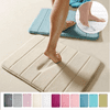 Absorbent Soft Memory Foam Mat Bath Bathroom Bedroom Floor Shower Rug Non-slip