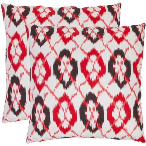 Safavieh Argyle Geometric Pillow, Set of 2