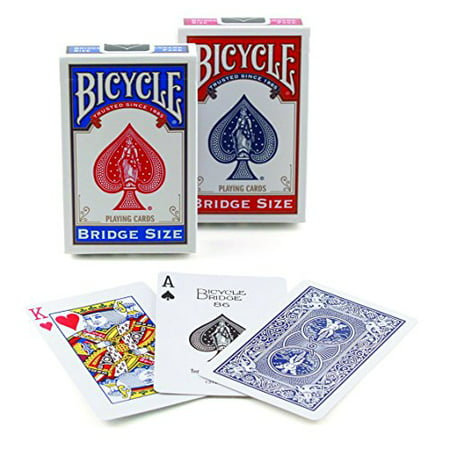 Bicycle Bridge Size Playing Cards (Colors May Vary) - Make Your Own Playing Cards