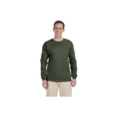 Fruit of the Loom Adult 5 oz. HD Cotton™ Long-Sleeve T-Shirt 4930