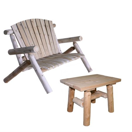 Lakeland Mills Patio Love Seat with End (Lakeland Outlet Stores)