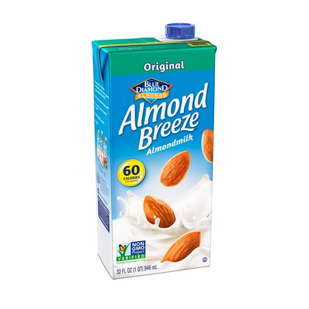 (4 pack) Almond Breeze Original Almondmilk, 32 fl oz