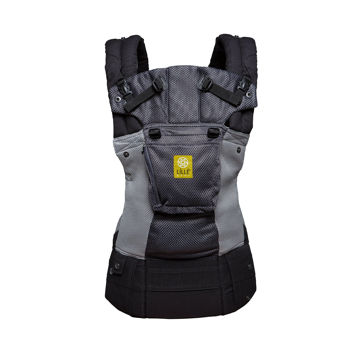 Click here to buy LILLEbaby Airflow Baby Carrier Grey with Silver by lillebaby.